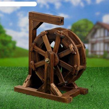 Садовая фигура водяная мельница 36*23*43 см
