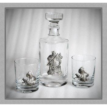 Набор  для виски 169 «удачная охота»