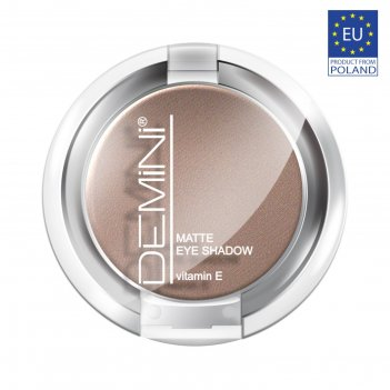 Тени для век demini matte eye shadow с витамином е, тон 714
