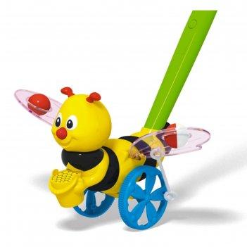 Каталка «пчёлка», длина ручки 47 см.