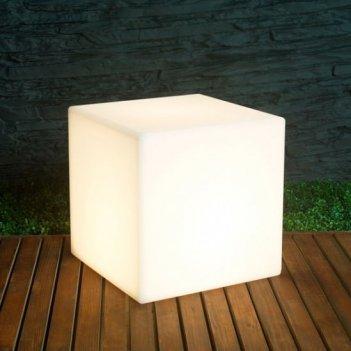 Светодиодный светильник для сада illuminated cube 40, уличное оборудование