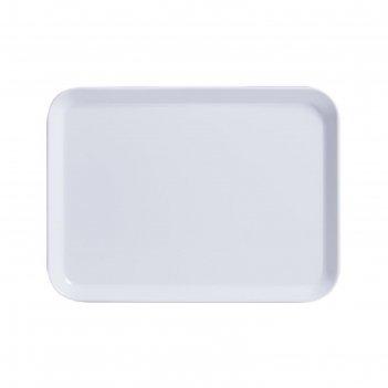 Поднос 24x18 см, белый