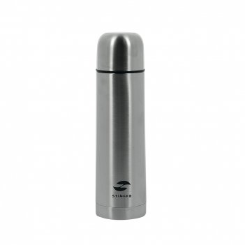 Термос stinger, 0,5 л, узкий, сталь, серебристый