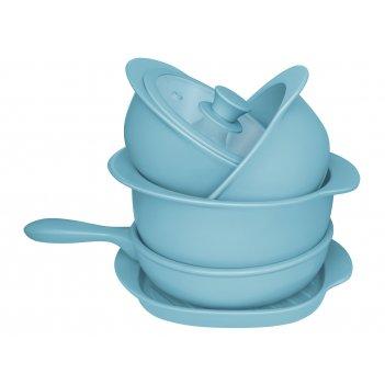 Набор oxford 5 предметов (3 кастрюли, 1 сотейник, 1 сковорода гриль)
