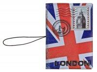 Обложка для паспорта и автодокументов 3в1 лондон