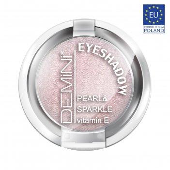 Тени для век demini pearl & sparkle eye shadow с витамином е, тон 625 сире