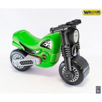 40480 мотоцикл-каталка «моторбайк» цвет зеленый