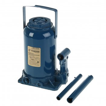Домкрат гидравлический бутылочный tundra comfort, 16т, телескопический 232