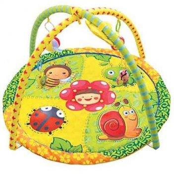 Игровой коврик с игрушками веселая полянка 1331-н25083/302в