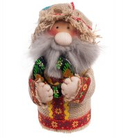 Кукла-шкатулка кузьмич с подковой