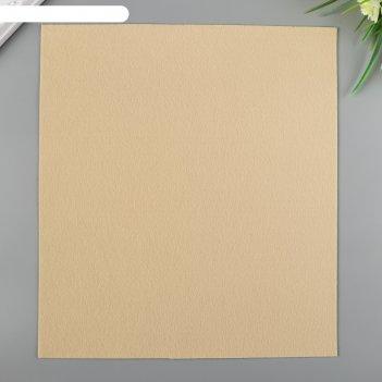 Фетр gamma premium декоративный 27х30 см (набор 5 шт) бурый мишка