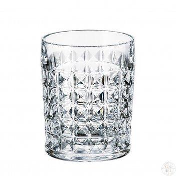 Набор стаканов для виски crystalite bohemia diamond 230 мл(6 шт)