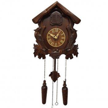 Настенные часы с кукушкой columbus избушка cq-025