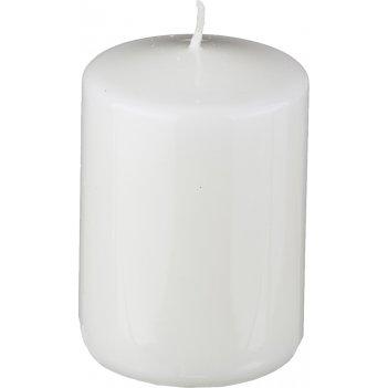 Свеча высота=10 см.диаметр=7 см.белая
