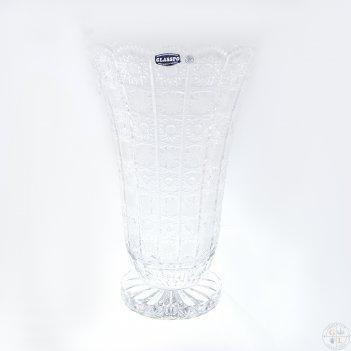 Ваза bohemia glasspo 35 см
