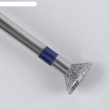 Фреза алмазная для педикюра, средняя зернистость, 6 x 4 мм