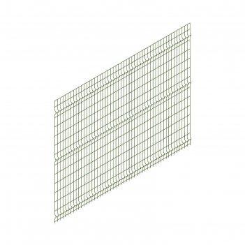 Панельное ограждение преграда 2,7х1,74 м, ячейка 55х235 мм, d прута-3мм, ц