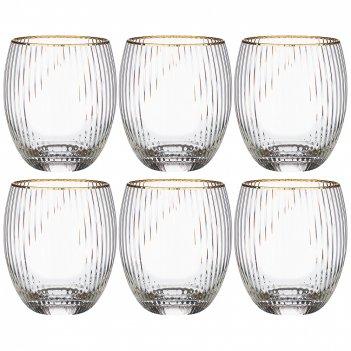 Набор стаканов из 6-ти шт. рим объем 500мл. высота 10,5см. (кор=4наб.)