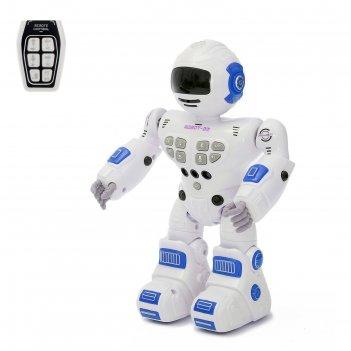 Робот радиоупарвляемый «зеро», световые и звуковые эффекты, работает от ба