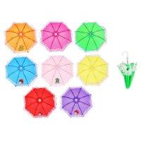 Зонт детский миниатюрный волшебство, d=25см, микс