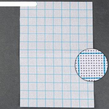 Канва для вышивания клетка 10*10 квадр №11 30*20см ау