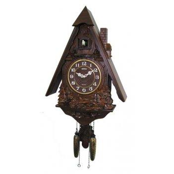 Настенные часы с кукушкой sinix 808