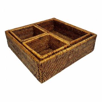 Короб для хранения столовых приборов №1