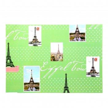 Бумага для творчества башня на зелёном а4 плотность 80 гр
