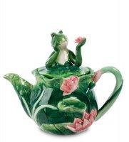 Cms-02/ 4 заварочный чайник лягушка (pavone)