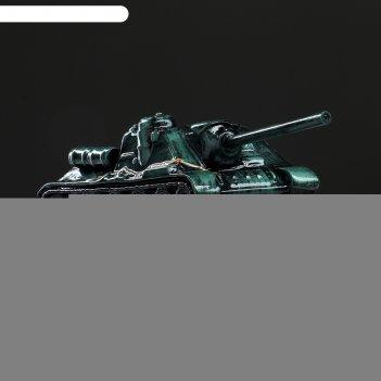Копилка танк су-100, зелёный