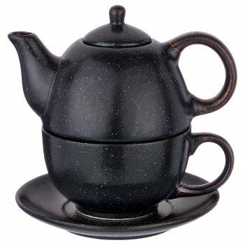 Набор 2 пр. чайник объем 400 мл и чашка объем 329 мл коллекция лимаж