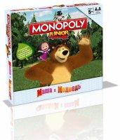 """Настольная игра монополия """"маша и медведь"""""""