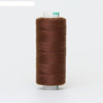 Нитка дор-так pl 40/2 400 ярд, цвет коричневый 195 к09
