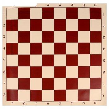 Доска шахматная, клетка 5.8 см, коричневая, 50х50 см