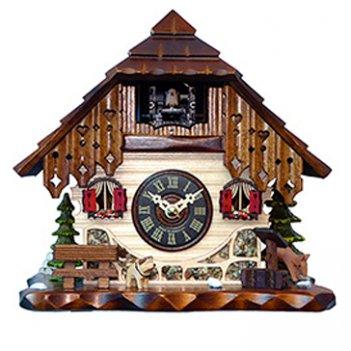Настольно-настенные часы с кукушкой sars 40310-8m