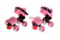Ролики для обуви раздвижные, размер 19-25 см, колеса рvc d = 50 мм, цвет р