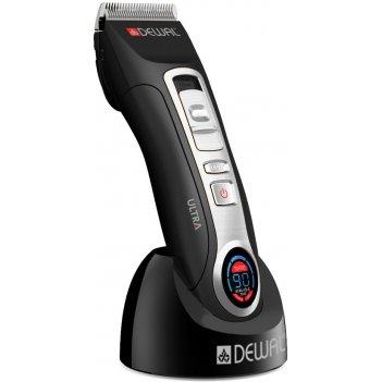 Машинка для стрижки dewal ultra, 1-1,9 мм, аккум/сетев,жк экран, 2 ножа (т