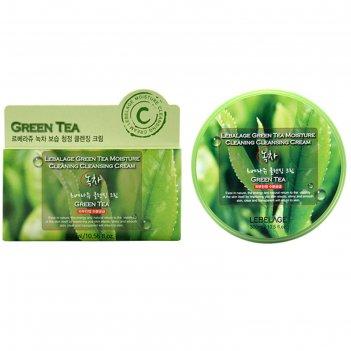 Очищающий крем для снятия макияжа lebelage с экстрактом зеленого чая, 300