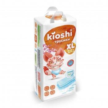 Подгузники-трусики kioshi xl 12-18 кг 36 шт