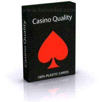 Пластиковые игральные карты для покера (100% пластик, китай)