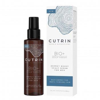 Сыворотка-бустер для укрепления волос cutrin bio+ energy boost for men, 10