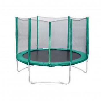 Батут с защитной сеткой trampoline 8 диаметр 2,4 м