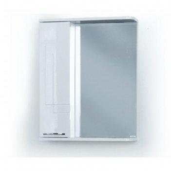 Шкаф-зеркало аттика (с подсветкой ) левый 55