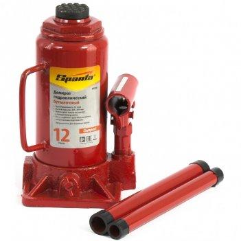 Домкрат гидравлический бутылочный 12 т, h подъема 205-400 мм sparta compac