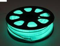 Гибкий неон, 12*24мм, 10 м, led/м-80-220v, зеленый