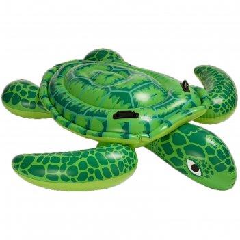 Игрушка надувная для плавания черепаха с ручками 150х127 см, от 3 лет