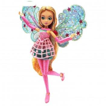 Кукла winx club космикс «флора»
