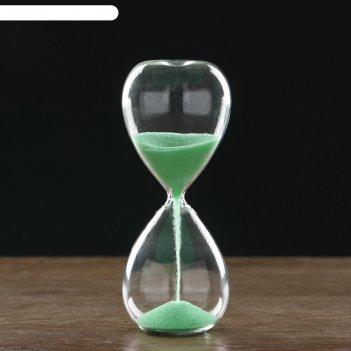 Часы песочные, флуоресцентный песок 6.5х16 см