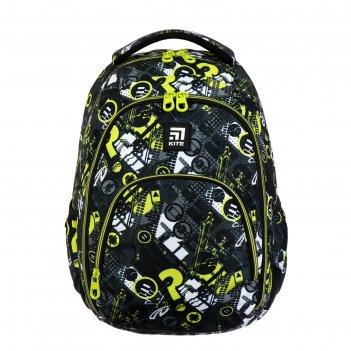 Рюкзак молодёжный эргономичная спинка, kite 905, 42 х 32 х 13, патерн