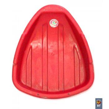 Ледянка треугольник красный